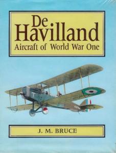 De Havilland Aircraft of World War One