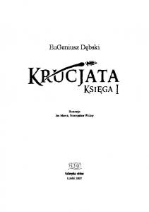 Debski Eugeniusz - Krucjata Tom I