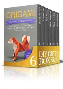 DIY Gifts Box Set Origami - Elithabeth Rays
