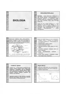 Ekologia 3 s