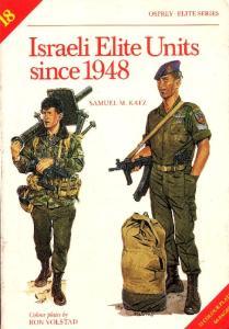 Elite 018 - Israeli Elite Units Since 1948[Osprey Elite 18]