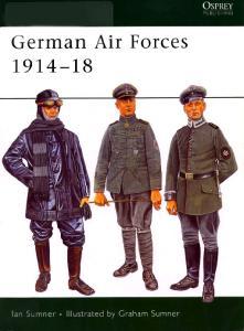 Elite 135 - German Air Forces 1914-18 [Osprey Elite 135]