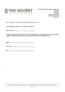 Employer Consent Form V3