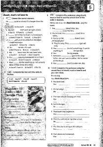 English Plus 3 workbook 43