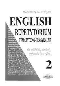 English - repetytorium tematyczno-leksykalne 2 (OCR)