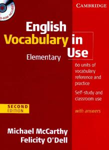 English Vocabulry in Use Elementary