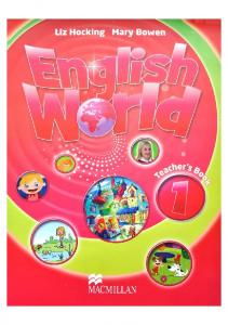 English World 1 - Teachers Book