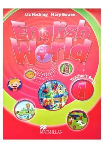 English World 1 - Teachers Book