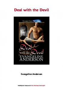Evangeline Anderson Deal with the Devil