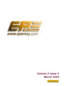 Everyday Practical Electronics 2000-03