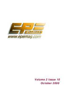 Everyday Practical Electronics 2000-10