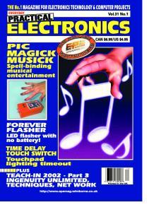 Everyday Practical Electronics 2002-01