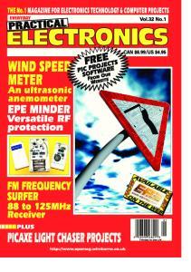 Everyday Practical Electronics 2003-01