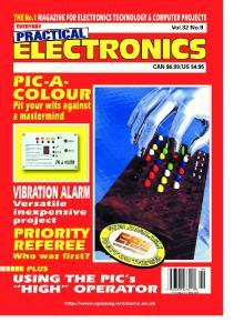 Everyday Practical Electronics 2003-09
