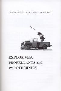Explosives, Propellants and Pyrotechnics