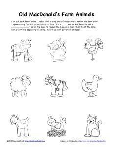 farm animals B&W