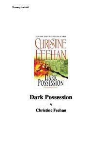 Feehan Christine Mrok 18 Dark Possession