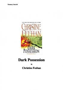 Feehan Christine - Mrok 18 - Dark Possession(nieof.)