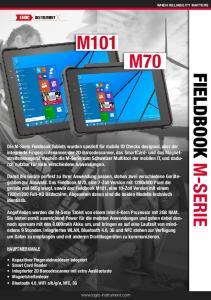 Fieldbook M-Series DE