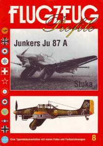 Flugzeug Profile 008 - Junkers Ju 87A Stuka