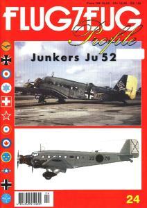Flugzeug Profile 024 - Junkers Ju 52