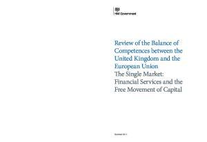 Freedom of Capital UK report