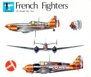 French Fighters of World War Two Volume One