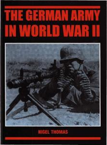 General Military - The German Army in World War II