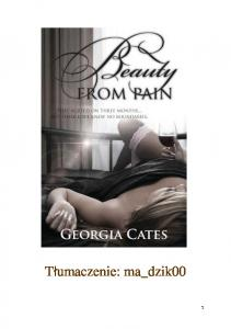 Georgia Cates - Beauty From Pain