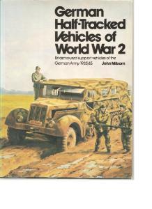 German half-tracked vehicles of world war 2