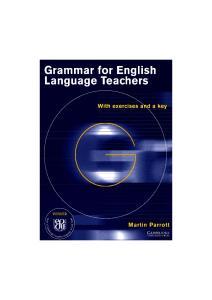Grammar for English Language