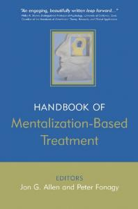 Handbook of Mentalization-based Treatment - Jon G. Allen