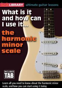 Harmonic Minor DVD Tab Book