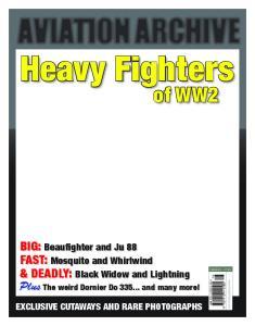 Heavy Fighters of WW2