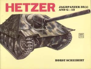 Hetzer Jagdpanzer 38(t) and G-13
