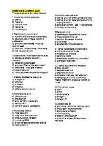 Histologia lekarski 2001