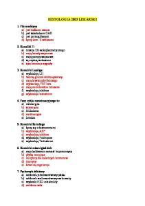Histologia lekarski 2003