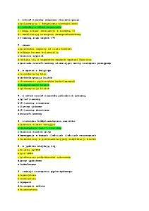 histologia - test - 2oo6