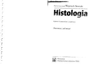 Histologia - W.Sawicki