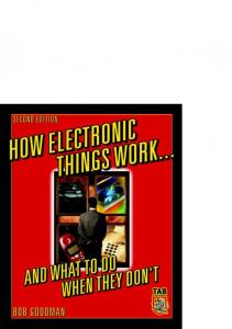 How Electronic Things Work And What To DoWhen They Dont