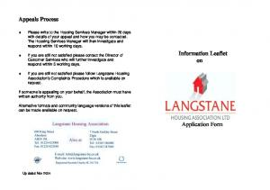 How to apply Langstane only