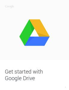 How to get started with Drive