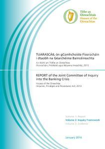 IBC Report Volume 2