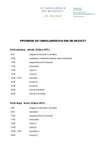 IDM 2015 - program