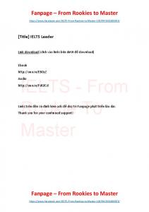 IELTS Leader