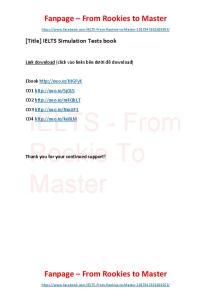 IELTS Simulation Tests book