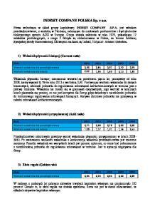INDESIT COMPANY POLSKA Sp(ALong)