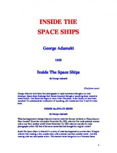Inside The Space Ships - George Adamski