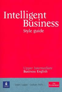 Intelligent Business Upper Intermediate Style Guide