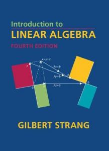 Introduction to Linear Algebra - 4th - Gilbert Strang
